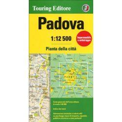 Padova térkép Touring Club Italiano 1:12 500