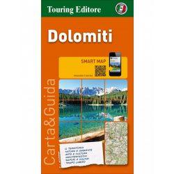Dolomitok térkép Touring Club Italiano 1:200 000