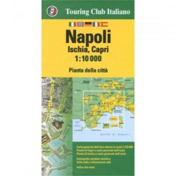 Nápoly térkép Touring Club Italiano 1:10 000