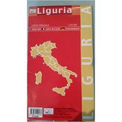 Liguria térkép LAC  1:250 000