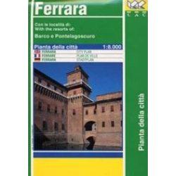 Ferrara térkép LAC Italy  1:8 000  1991