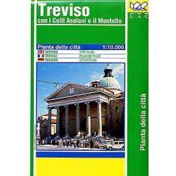 Treviso térkép LAC Italy  1:10 000