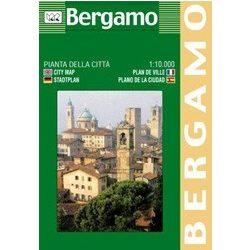 Bergamo térkép LAC Italy  1:10 000   2005