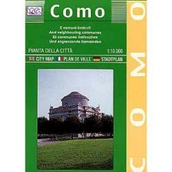 Como térkép LAC Italy  1:10 000