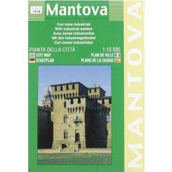 Mantova térkép LAC Italy  1:10 000  2001