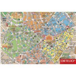 Milánó térkép LAC 1:19 500