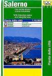 Salerno térkép LAC Italy  1:10 000  2006
