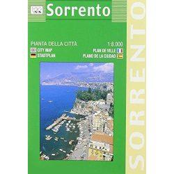 Sorrento térkép LAC Italy  1:8 000