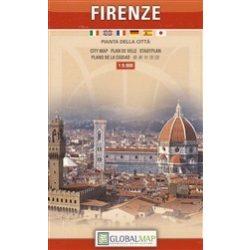 Firenze térkép LAC Italy  1:9 000