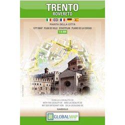 Trento térkép LAC Italy  1:8 000  2008