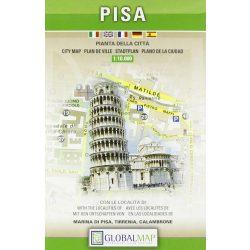 Pisa térkép LAC Italy  1:10 000   2006