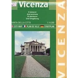 Vicenza térkép LAC Italy  1:14 000
