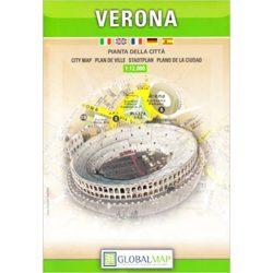 Verona térkép LAC 1:12 000