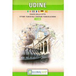 Udine térkép LAC Italy  1:10 000  2007