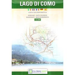 Como térkép LAC Italy  1:35 000