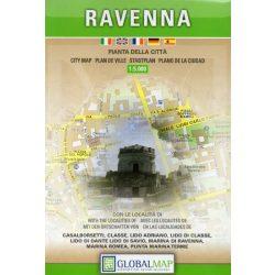 Ravenna térkép LAC Italy  1:9 000