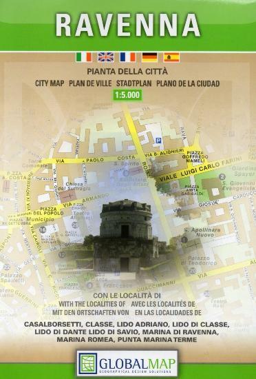 ravenna térkép Ravenna térkép LAC Italy 1:9 000   Térkép Center Kft. Budai