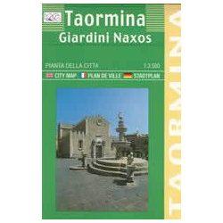 Taormina térkép LAC Italy  1:3500
