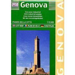 Genova térkép LAC Italy  1:12 000   2010