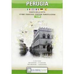 Perugia térkép LAC 1:10 000