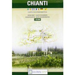 Chianti térkép LAC Italy  1:50 000   2009