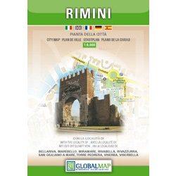 Rimini térkép LAC Italy  1:8 000  2010