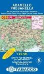 052. Adamello turista térkép Tabacco 1: 25 000