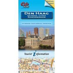 Den Haag térkép Cito plan turisztikai zsebtérkép  2015