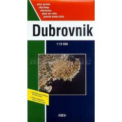 Dubrovnik térkép Forum 1:15 500  2008