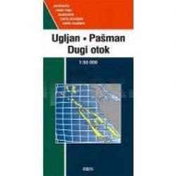 Dalmát tengerpart, Ugljan, Pasman, Dugi otok, Silba, Olib, Ist, Molat, Rava, Rivanj 1:50 000 Forum