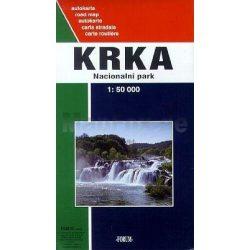 Krka nemzeti park térkép  Forum 2009  1 : 50 000