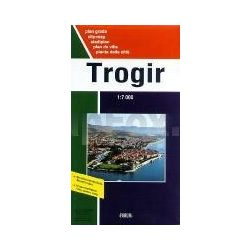 Trogir térkép Forum 1:7 000  1:75 000  2011