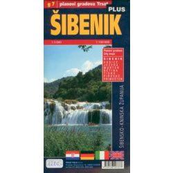 Sibenik térkép 1:3000