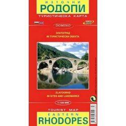 Rodope térkép Domino 1:120 000  Kelet Rhodopes