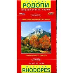 Rodope térkép Domino 1:100 000