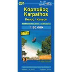 201. Karpathos térkép Road Editions 1:60 000 Kassos