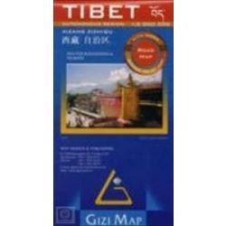 Tibet térkép Gizi Map 1:2 000 000