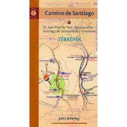 Camino de Santiago térképek - magyar nyelvű 2012