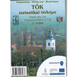 Tök turisztikai térképe Schwarcz 2015 1:9 000