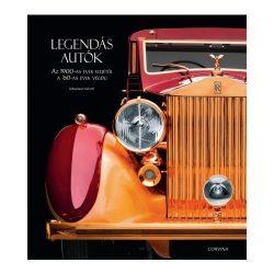 Legendás autók  könyv Corvina kiadó 2016