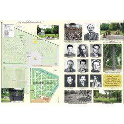 1956 Eseményei 56 térképen és képeken HM hajtogatott történelmi térkép 107x81  1 : 1500 000
