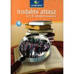 CR-0142 Irodalom atlasz Cartographia Tankönyvkiadó Irodalmi atlasz 5-8. évfolyam