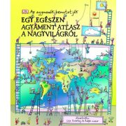 Egy egészen agyament atlasz a nagyvilágról könyv HVG kiadó  2017