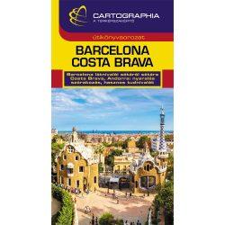 Barcelona útikönyv Cartographia kiadó, Barcelona, Costa Brava útikönyv 2017