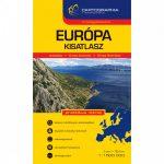 Európa atlasz, spirál kisatlasz, Cartographia 1:1 500 000