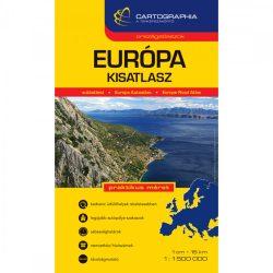 Európa atlasz, spirál kisatlasz, Cartographia 1:1 500 000 2017