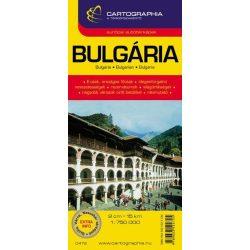 Bulgária térkép Cartographia 1:750 000