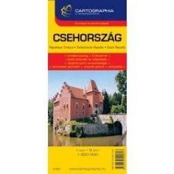 Csehország autótérkép Cartographia 1:500 000