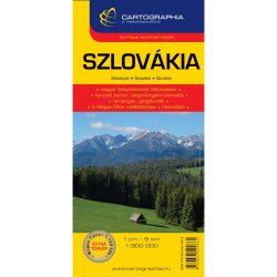 Szlovákia térkép Cartographia 1:500 000   2015