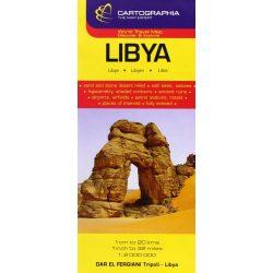 Libya térkép Cartographia  1:1 000 000